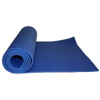 Kabalo - BLUE 173cm long x 61cm wide - EXTRA THICK 6mm - Non-Slip Yoga Mat with carry strap, also...