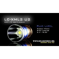 【Blue Label】 SOLARFORCE ソーラーフォース LC-XML2 (U2, Single mode, 2.7 - 9V) LED交換球