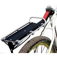 [Present-web] 簡単取り付け 自転車用 リア キャリア 荷台