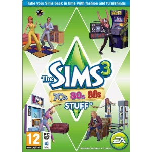 The Sims 3: 70s, 80s and 90s Stuff (輸入版 UK)
