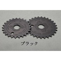 【BMXスプロケット】UNITED / SUPREME SCD SPROCKET / 25T / BLACK