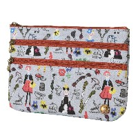 spia ポーチ 3-zip pouch DOLLS FSP-0217DL [正規代理店品]