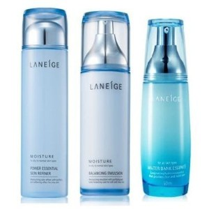 KOREAN COSMETICS, Amorepacific_ Laneige Set for Dry to Normal Skin Type (Power Essential Skin...