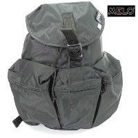 MELO(メロ) MEDIUM 3 POKET BACKPACK RAVEN(BLACK)