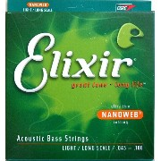ELIXIR 14502/NANOWEB/Acoustic Bass/Light×2SET