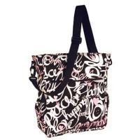 Amy Michelle ママバッグ Broadway Baby Tote Black/Pink