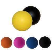 JOYOOO 2PCS Lacrosse Massage Ball Ideal for Myofascial Release, Trigger Point Therapy and Deep...