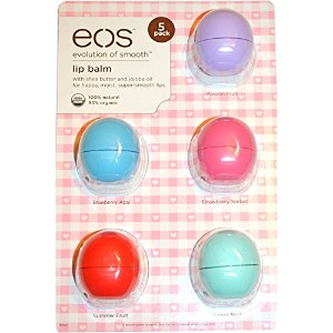 Eos Lip Balm 5 Pack Love Collection (並行輸入品)