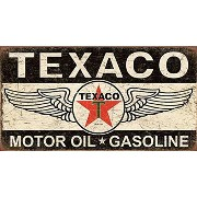 Tin Sign Texaco Winged Logo 【サインボード】 #58408