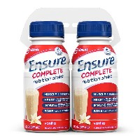 Ensure Complete Nutrition Shake, Vanilla, 8-Ounce, 4 Count by Ensure