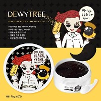 DEWYTREE Real Gold Black Pearl Eye Patch 60ea (REAL GOLD BLACK PEARL)/デュイツリー リアルゴールド ブラックパール アイパッチ...