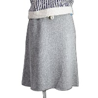 (グッドオン) GOOD ON WOMENS SWEAT SKIRT[METAL GREY]