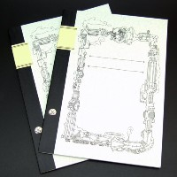 ReUdo Thinking Power Notebook スティームパンク(A4+ノート縦長)(穴なし) 2冊セット TPN-A4T-SP