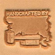 Handcrafted By 3d Leather Stamping Tool by Tandy Leather
