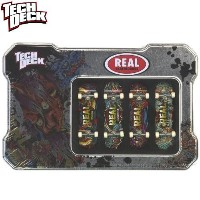 TECH DECK スケボー 指スケ TIN BOX REAL NO1