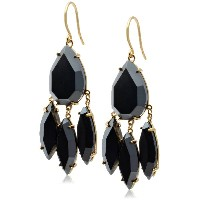 [ゴリアナ] gorjana Clara Drop Earrings Hematite 1311-003-18-G