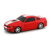 LUMENxTIMELY [ Ford 公式製品 Mustang GT ] ワイアレスマウス [ RED ] LXT-FD-MUSGT-RE