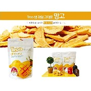Freeze Dried Fruit Chips(急速凍結乾燥果物 - マンゴー :20gr/pack x 5 packs)