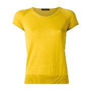 Roberto Collina short sleeve knitted top