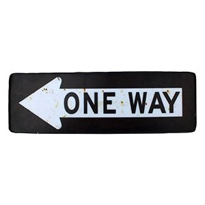 HOUSE USE PRODUCTS SIGN LIGHT [ ONEWAY ] サインライト