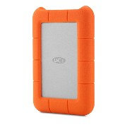 LaCie Rugged Thunderbolt/USB3.0 Hard Drive 耐衝撃 バスパワー Apple iMac MacBook TimeMachine対応 (2TB)
