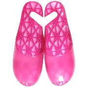 FOOTLIFE bath sandals バスサンダル M(22.5-24.5cm) pink F3222 PK-M