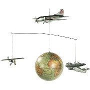 Authentic Models AP124 Around The World Mobile