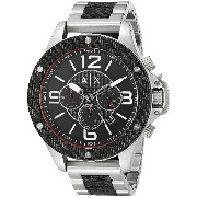 Armani Exchange アルマーニ エクスチェンジ メンズ 時計 腕時計 Men's AX1521 Analog Display Analog Quartz Black Watch