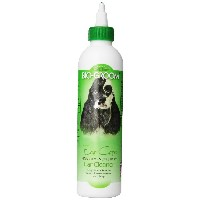 Bio-Groom Ear Care Ear Cleaner and Ear Wax Remover Non Sticky for Dogs Cats 8oz