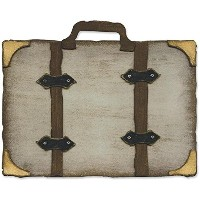 """Sizzix Movers & Shapers Base Die By Tim Holtz 5.5""""X6""""-Vintage Valise (並行輸入品)"""
