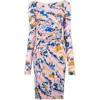 [cpc][c:0][b:5.5][s:1.18]Emilio Pucci floral print fitted dress