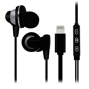 EloBeth iPhone 7 Lightning Headphones In-Ear Earphones Wired Headset Earbuds 高音質 ハンズフリー通話 受話器が回転可能...
