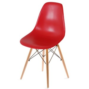 UNE BONNE(ウネボネ) EAMES CHAIR(イームズチェア) イームズ デザイナーチェア 椅子 ダイニングチェア レッド
