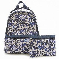 LeSportsac レスポートサック リュックサック 7812 BASIC BACKPACK D716 Blooming Silhouettes [並行輸入商品]