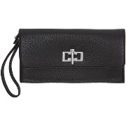 Carven Black Leather Clasp Wallet リストレット 人気 新作 CARVEN(カルヴェン) バイマ BUYMA