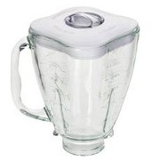 Oster 4918 5-Cup Glass Jar with Lid and Filler Cap Blender Accessory [並行輸入品]