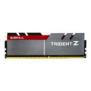 G.SKILL 16GB (4 x 4GB)TridentZ Series DDR4 PC4-29800 3733MHz For Intel Z170 プラットフォーム デスクトップ Memory...