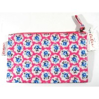 Cath Kidston Oilcloth Zip Purse Provence Rose Electric Pink - 513449 / キャスキッドソン コスメケース ポーチ [並行輸入品]