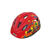 ABUS(アブス) 【日本正規品 /2年間保証】 ROOKIE S SMILEY RED