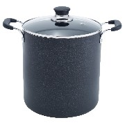 【並行輸入】T-fal Specialty Total Nonstick Dishwasher Safe Stockpot, 12-Quart, Black 食器洗い機可 鍋