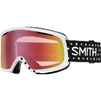 スミス Smith レディース スキー ゴーグル【Riot Goggles with Bonus Lens】White Dots/Red Sensor Mirror/Rc36