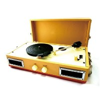 ポータブルレコードプレイヤー Mini Portable Record Player【MUSIC TRUNK】