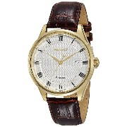 SEIKO セイコー AUTOMATIC SRP770 WHITE DIAL BROWN LEATHER BAND MEN'S WATCH 男性用 メンズ 腕時計 [並行輸入品]
