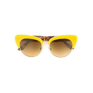 Dolce & Gabbana - cat eye frame sunglasses - women - アセテート - ワンサイズ