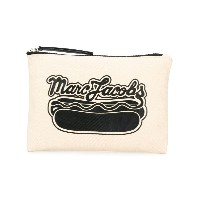 Marc Jacobs logo hot dot printed pouch