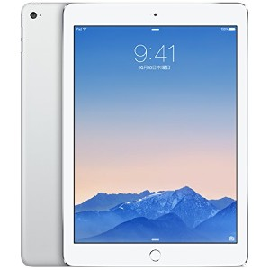 【docomo版】 iPad Air 2 Wi-Fi Cellular 16GB シルバー 白ロム
