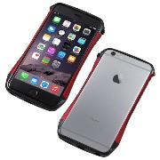Deff カーボン アルミニウム ハイブリッド バンパー CLEAVE Carbon & Aluminum Bumper for iPhone 6s Plus / DCB-IP6PSA6CA ...