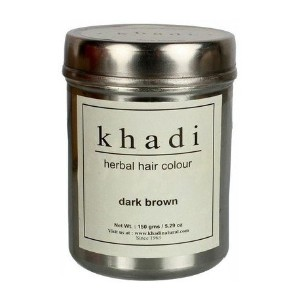 Khadi Herbal Dark Brown Henna - 150 ml
