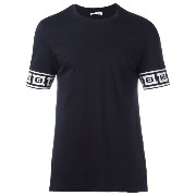 Versace Collection プリントカフス Tシャツ