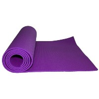 Kabalo - PURPLE 173cm long x 61cm wide - EXTRA THICK 6mm - Non-Slip Yoga Mat with carry strap, also...
